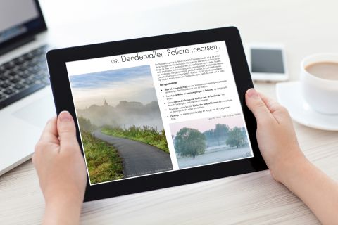 E-book op iPad