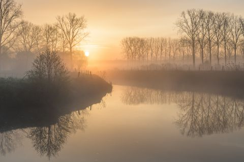 Dender at dawn