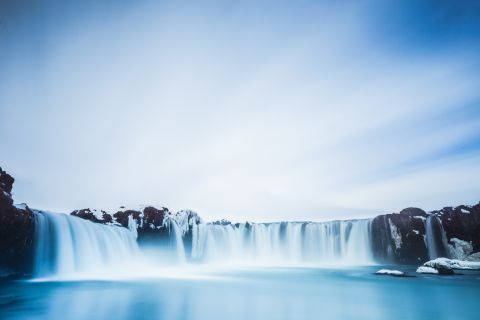 Godafoss waterval in IJsland